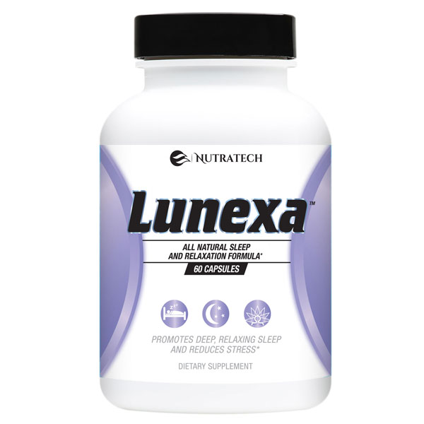 nutratech Lunexa sleep supplement for women