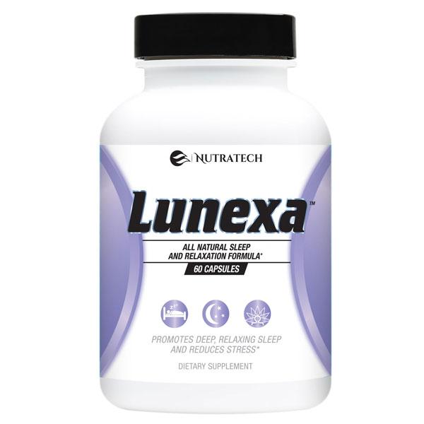 nutratech Lunexa sleep supplement for women