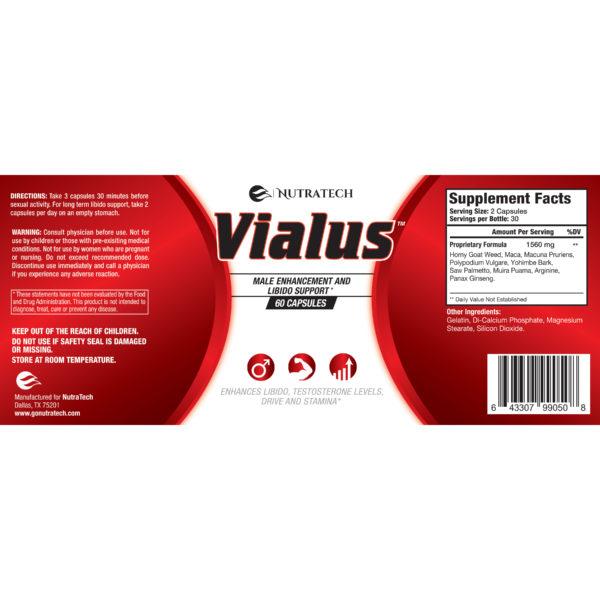 vialus libido ingredients & directions